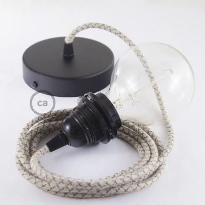 Pendel für Lampenschirm, Hängelampe Raute Bark RD63