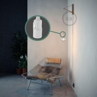 Configura il tuo Snake Effetto Seta Bianco RM01 e porta la luce dove vuoi tu.
