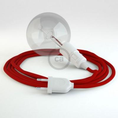 Configura il tuo Snake Effetto Seta Rosso RM09 e porta la luce dove vuoi tu.