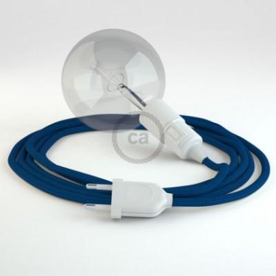 Kreieren sie ihre Snake Leuchte mit dem RM12 Blau Seideneffekt und erleuchten sie ihre Umgebung.