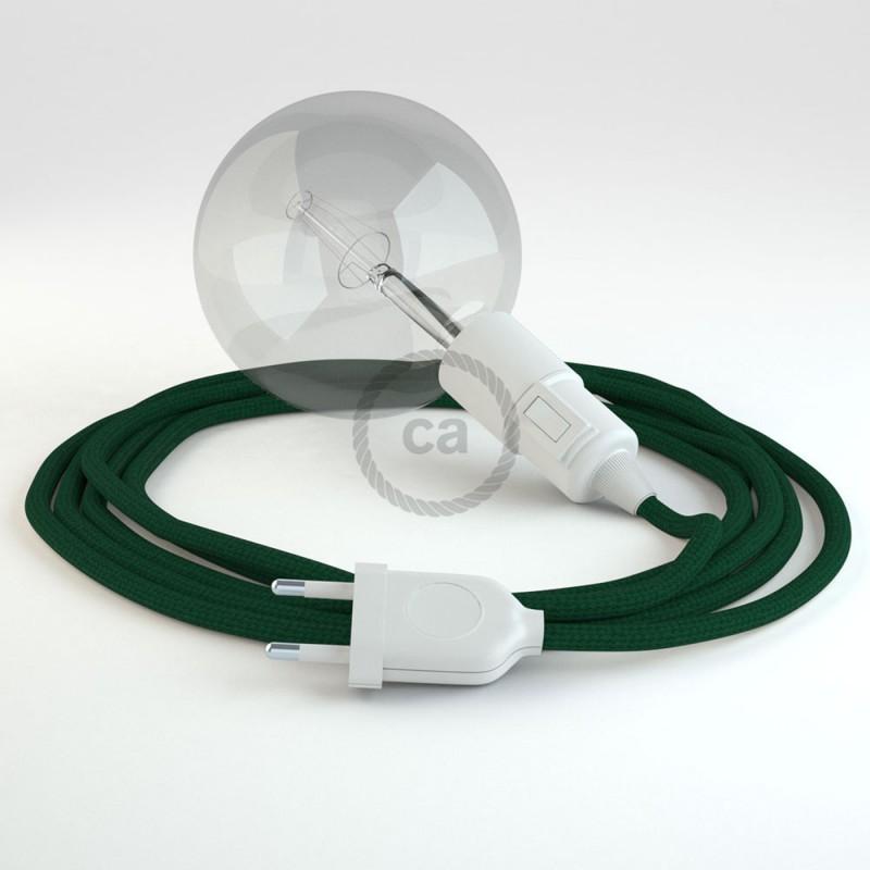 Créez votre Snake Effet Soie Vert Foncé RM21 et apportez la lumière là où vous souhaitez.
