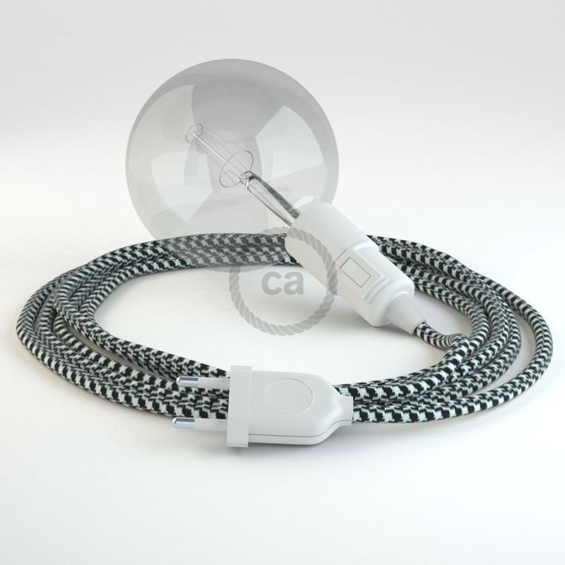 Configura il tuo Snake Bicolore Nero RP04 e porta la luce dove vuoi tu.