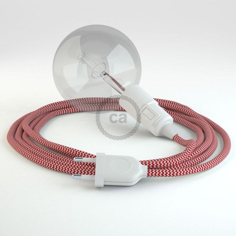 Configura il tuo Snake ZigZag Rosso RZ09 e porta la luce dove vuoi tu.
