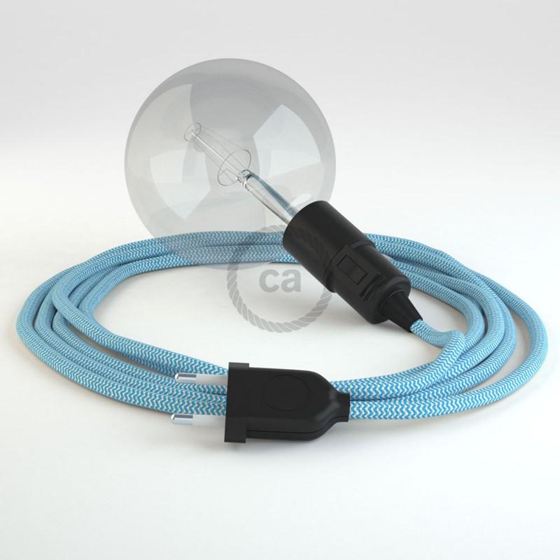 Créez votre Snake ZigZag Turquoise RZ11 et apportez la lumière là où vous souhaitez.