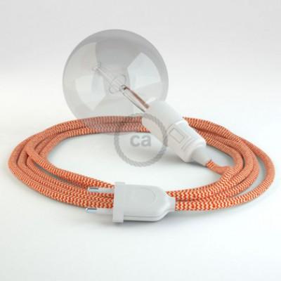 Créez votre Snake ZigZag Orange RZ15 et apportez la lumière là où vous souhaitez.