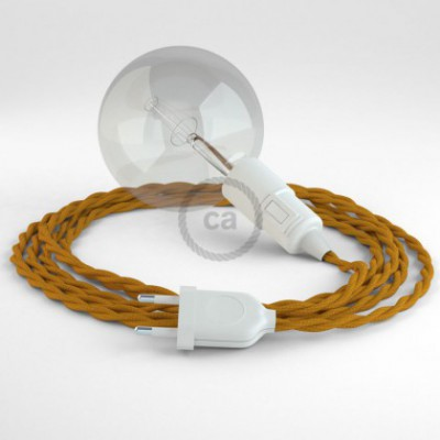 Créez votre Snake Effet Soie Moutarde TM25 et apportez la lumière là où vous souhaitez.