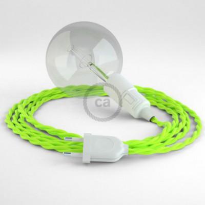 Créez votre Snake Jaune Fluo TF10 et apportez la lumière là où vous souhaitez.
