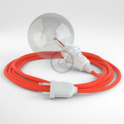 Configura il tuo Snake per paralume Arancione Fluo RF15 e porta la luce dove vuoi tu.