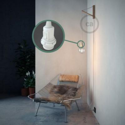 Créez votre Snake pour Abat-jour Effet Soie Blanc RM01 et apportez la lumière là où vous souhaitez.