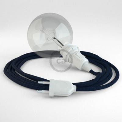 Créez votre Snake pour Abat-jour Effet Soie Bleu Marine RM20 et apportez la lumière là où vous souhaitez.