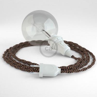 Créez votre Snake pour Abat-jour Effet Soie Noir e Whiskey TZ22 et apportez la lumière là où vous souhaitez.