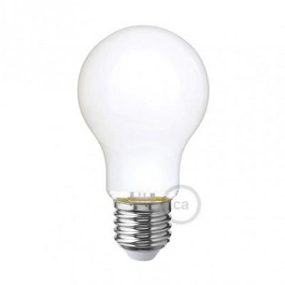 Ampoule LED blanc lait - Goutte A60 - 6W E27 Dimmable 2700K