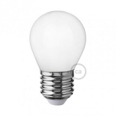 Ampoule LED blanc lait - Mini Globe G45 - 4W E27 Dimmable 2700K