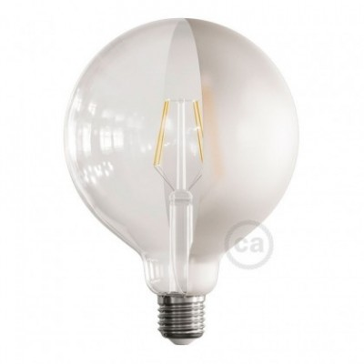 Ampoule LED Globe G125 Filament Court Version Tattoo Lamp® Modèle Half 4W E27 2700K