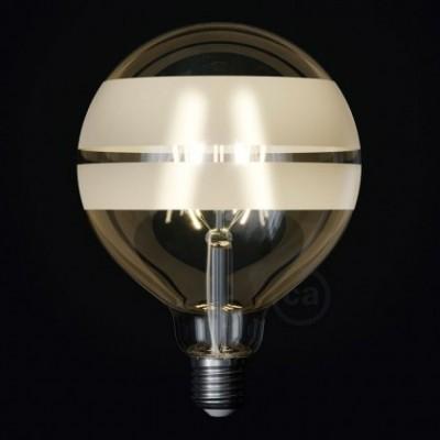 Ampoule LED Globe G125 Filament Court Version Tattoo Lamp® Modèle Saturn 4W E27 2700K
