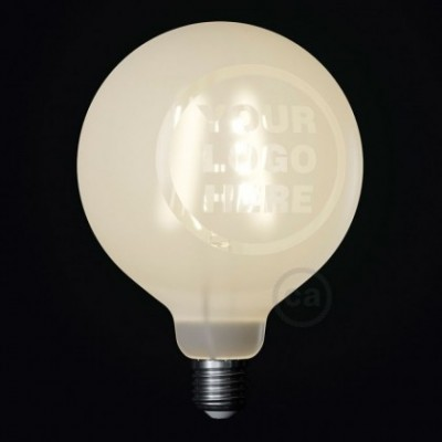 Ampoule LED Globe G125 Filament Court Version Tattoo Lamp® Custom Design 4W E27 2700K