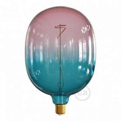 Ampoule LED Egg série Pastel, couleur Rêve (Dream), filament liane 4W E27 Dimmable 2200K