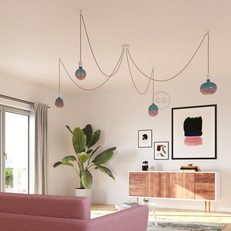 Ampoule LED Egg série Pastel, couleur Rêve (Dream), filament liane 4W E27 Dimmable 2200K