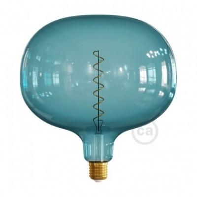 Lampadina LED Cobble linea Pastel Ocean Blue filamento Spirale 4W E27 Dimmerabile 2200K