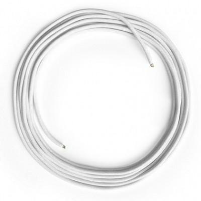 Câble Lan Ethernet Cat 5e sans connecteurs RJ45 - RC01 Coton Blanc