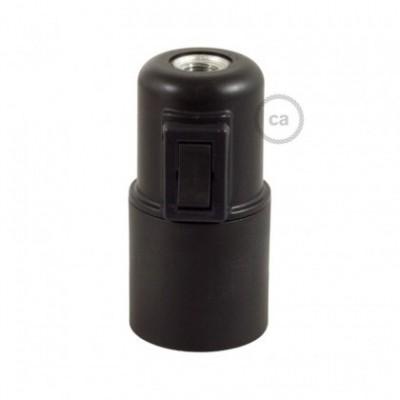 Kit douille E27 en thermoplastique avec interrupteur