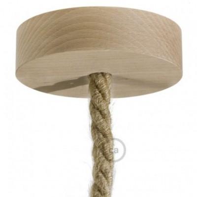 Kit rosone in legno per cordone XL