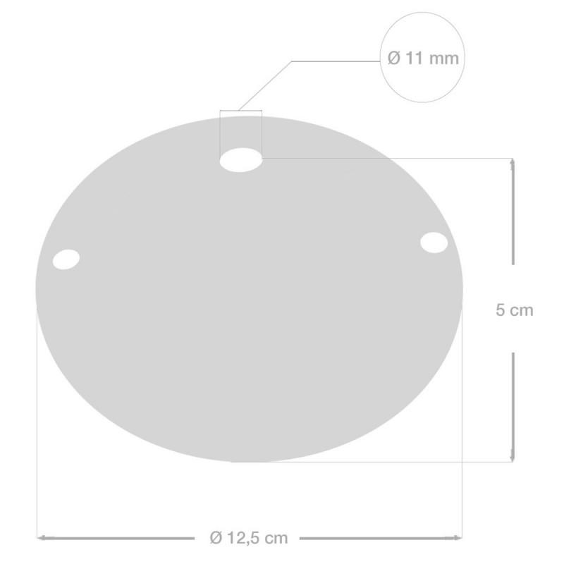 Kit rosone in ceramica con Decoro 48-Linea