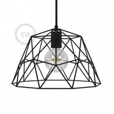 Abat-jour Cage XL Dome en métal avec douille E27