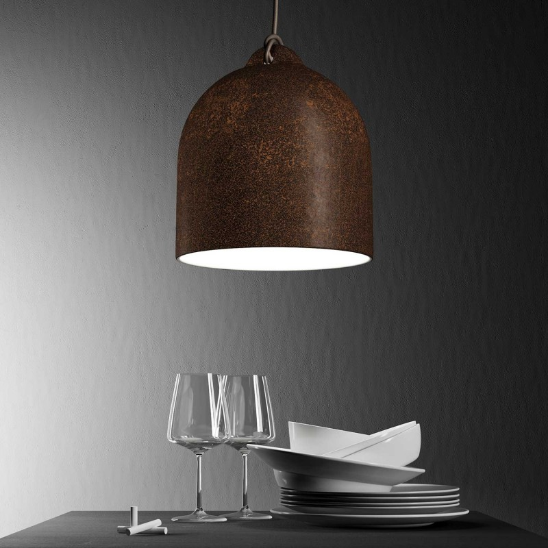 Abat-jour Cloche M en céramique - Made in Italy