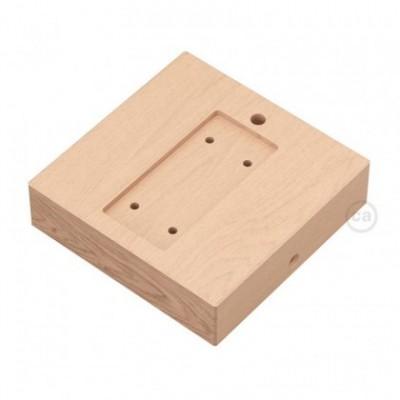Support carré en bois pour Archet(To)