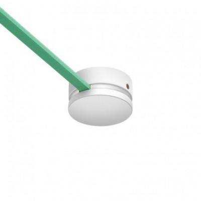 Lampenbaldachin aus Naturholz für Lichterketten und Filé-System. Made in Italy