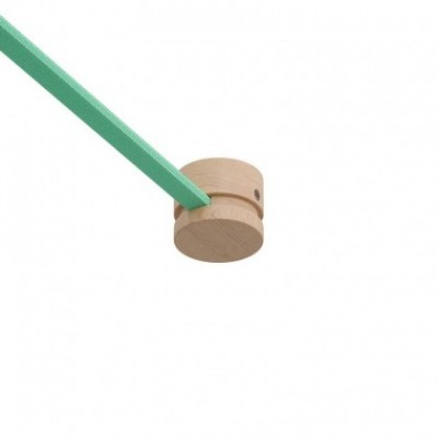Anschlussklemmen aus Holz für Lichterketten und Filé-System. Made in Italy