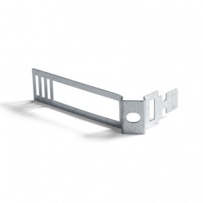Clips passe-câbles métalliques pour cordon 24mm diamètre