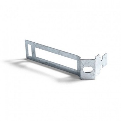 Clip fascetta passacavo in metallo per cordone 30 mm diametro