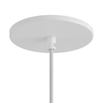 Einbau-Lampenbaldachin - Unterputz mit einer zentralen Bohrung
