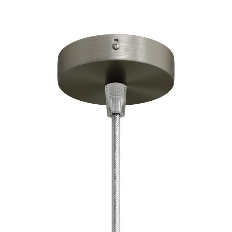 Kit Mini Rosace cylindrique métallique avec 1 trou central