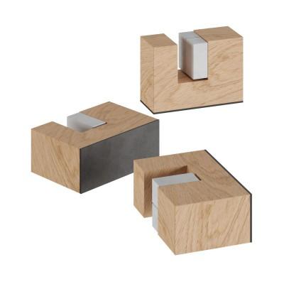 Kit piedini in legno, supporto per lampada da tavolo