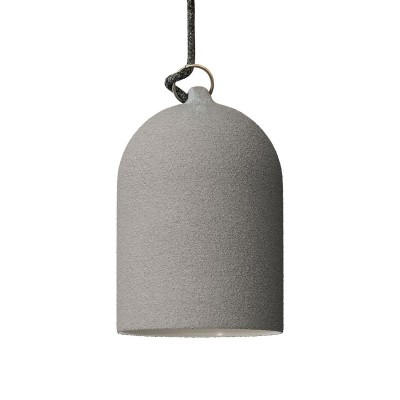 Campana Mini, paralume XS in ceramica per sospensione - Made in Italy