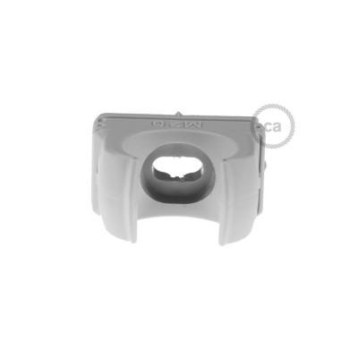 Clip fissatubo in plastica, diametro 20 mm, per Creative-Tube
