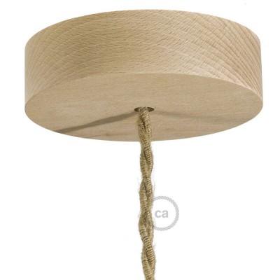 Lampenbaldachin Kit aus Holz