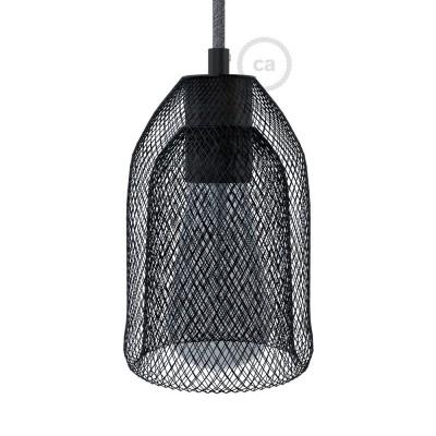 Abat-jour Cage GhostBell en métal couleur avec kit douille E27