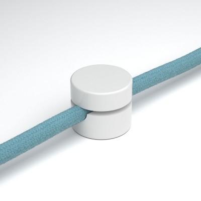 Wand- und Deckenpin, universale Kabelführung für Textilkabel