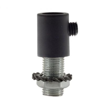 Serracavo cilindrico in plastica completo di tige, dado e rondella