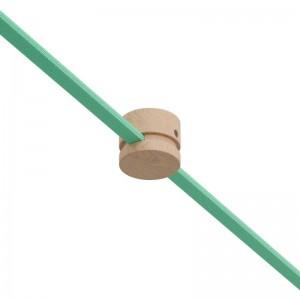 Passacavo in legno per cavo per catenaria e sistema Filé. Made in Italy