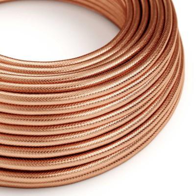 Elektrisches Kabel rund 100% überzogen mit Kupfer in kupferrot