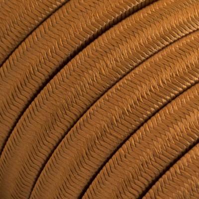 Cavo elettrico per Catenaria rivestito in tessuto Effetto Seta Whiskey CM22