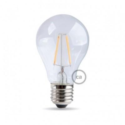 Ampoule Filament LED Goutte 8W E27 Claire