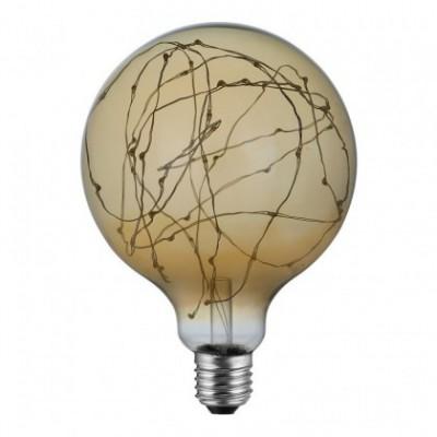 Ampoule LED Globo G125 - Mille Lumières Or – 1,5W E27 2000K