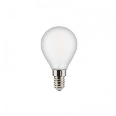 Ampoule filament Led Sphère Milky 6W E14 2700K