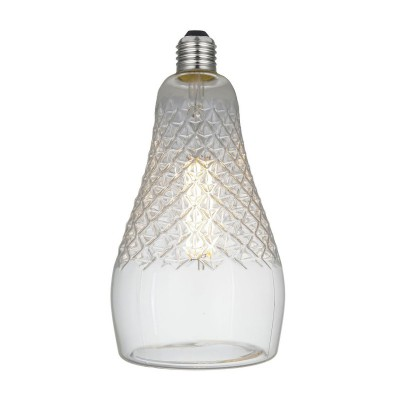 Ampoule LED Iris Clear Ligne Crystal 6W E27 Dimmable 2700K